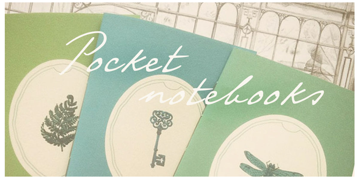 buy pocket notebooks